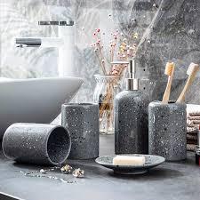 keramik badezimmer zubehör set seife dispenser zahnbürste