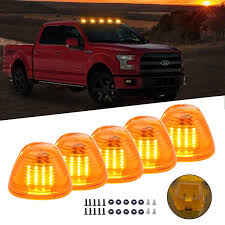 100 Running Lights For Trucks Amazoncom Amber Cab Roof Top Marker Lamps Clearance Light