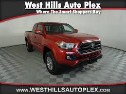 Pre-Owned 2016 Toyota Tacoma SR5 4WD Access Cab V6 AT (Natl) In ... Preowned 2016 Toyota Tacoma Sr5 Crew Cab Pickup In Union City Used Tundra Double Cab Sr5 At Prime Time Motors 2018 Scottsboro Video 1985 Marty Mcfly Truck Autoweek Back To The Future Marty Mcfly Toyota Pickup 4x4 Truck Newnan 22769a Of 2014 2wd Harrisburg Pa Reading Lancaster 2002 Access V6 Automatic Elite Auto 2015 4wd Westwood Ma Boston F288 Seattle New 22457