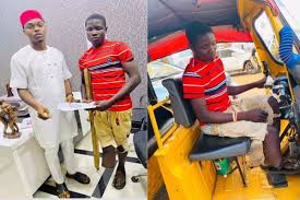 104 Lord B Itcoin Takes Disabled Eggar Off The Streets As He Uys Tricycle For Him To Do Usiness Video