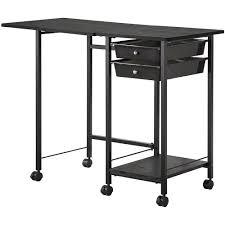 Coaster Contemporary Computer Desk by Coaster Black Folding Desk Walmart Com