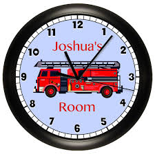 FIRE TRUCK Personalized Wall Clock | Fire Trucks, Firemen And Art Decor Bju Fire Truck Room Decor For Timothysnyderbloodlandscom Triptych Red Vintage Fire Truck 54x24 Original Bold Design Wall Art Canvas Pottery Barn 2017 Latest Bedroom Interior Paint Colors Www Coma Frique Studio 119be7d1776b Tonka Collection Decal Shop Fathead For Twin Bed Decals Toddler Vintage Fireman Home Firefighter Nursery Decorations Ideas Print Printable Limited Edition Firetruck 5pcs Pating