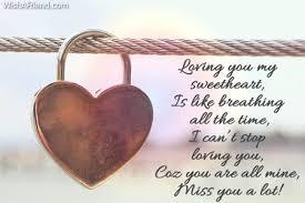 Loving You My Sweetheart Is Like Love Message For Boyfriend
