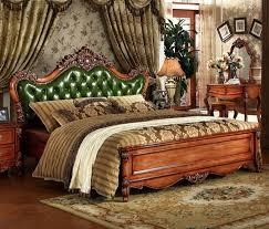europäischen stil massivholz geschnitzt schlafzimmer möbel antike massivholz schlafzimmer möbel grün braun schlafzimmer möbel