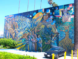 Chicano Park Murals Restoration by California Fool U0027s Gold Exploring East Los Angeles At The Amoeblog