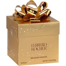 Ferrero Rocher Christmas Tree 150g by Rocher T18x4 Cube Walmart Com