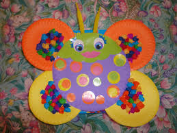 Crafting With Little Hands Alex Toys Paper Plate Bugs