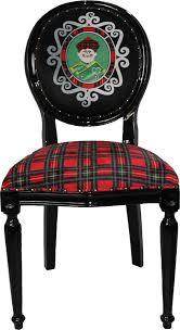 casa padrino luxus barock esszimmer set schottland mann mehrfarbig schwarz 48 x 50 x h 98 cm 6 handgefertigte esszimmerstühle barock