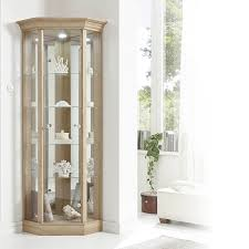 decoration white display cabinet with glass doors glass cupboard