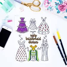 Heres A Free Coloring Book For When You Just Cant With Wedding Planning