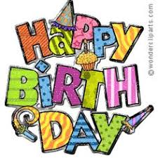236x236 Animation birthday clipart happy