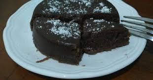 resep coklat volcano kukus