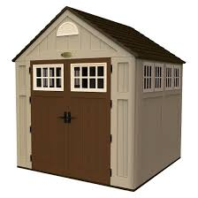 Rubbermaid Horizontal Storage Shed Instructions by 5x7 Suncast Shed Target