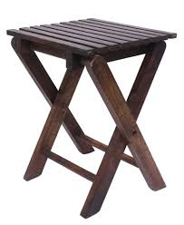 advantages and disadvantages of a folding stool chair over a