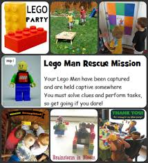 Halloween Scavenger Hunt Clue Cards by Brainstorm In Bloom Lego Man Rescue Mission Birthday Party
