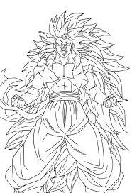Goku Ssj4 Colorear Dibujos Para Colorear Maestra De Infantil Y