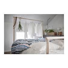 GJ–RA Bed frame Queen Lönset slatted bed base IKEA