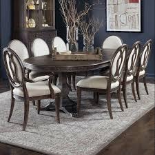 Double Pedestal Dining Room Table Sets Art Furniture Inc Saint 9 Piece