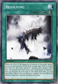 resolving necroface banish deck support advanced card design