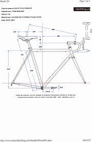 cadre velo sur mesure forum cyclisme vtt ski alp taille du cadre 1 1