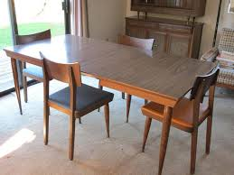 Retro 60s Dining Room TableMatching Chairs And Hutch