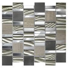 mohawk phas 12 x 12 glass mosaic tile at menards