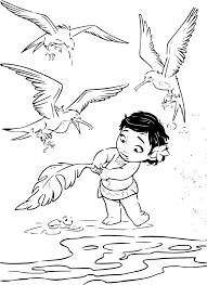 Coloriage Vaiana A Imprimer On 40 Beautiful Bebe Kids Of Within B