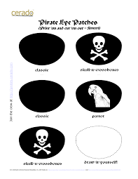 Pirate Halloween Stencils by Pirate Hat Printable Pirate Templates Http Www Docstoc