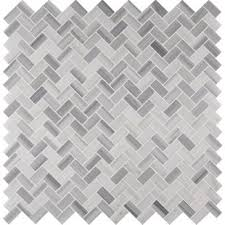 white herringbone tile wayfair