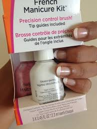 sally hansen french manicure kit review