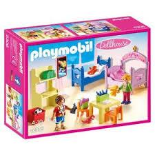 Playmobil 5319 La Maison Traditionnelle Parents Chambre Chambre Des Enfants Playmobil Achat Vente Jeux Et Jouets Pas Chers