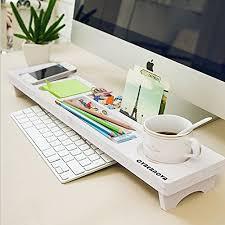 objet de bureau avis fr cybernova bureau en bois organisateur petits objets clavier