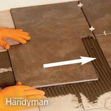 tile installation how to tile existing tile family handyman