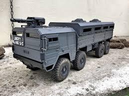 100 Rc Military Trucks 3D Print Files Shielding Kit For Rc MAN 8X8 Crossrc Armoured Cults