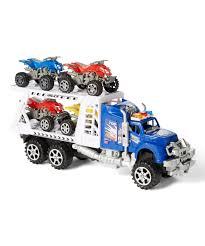 100 Truck Toyz Dash Blue Toy ATV Transporter Trailer Zulily