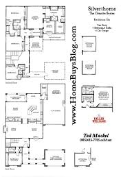 Centex Homes Floor Plans by Silverthorne At Indian Hills Simi Valley California 93063