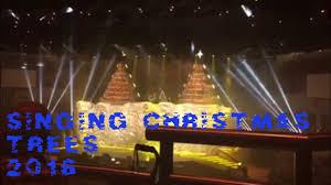 Bellevue Baptist Church Singing Christmas Tree Youtube by Singing Christmas Trees Orlando Fl 2016 Kabuki Drop Youtube