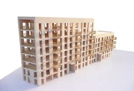 100 Bridport House House London CLT Timber Architecture Arch Building