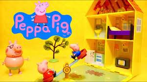 peppa pig la maison mobile de peppa george et sa famille jouets