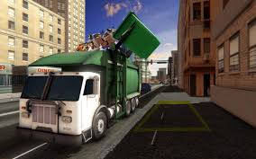 100 Junk Truck Urban City Simulator Garbage Recycle For