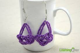We Are Continuously Absorbing Crafting Ideas From Fashion Magazines Jewelry Forums And Fanatics Blogs This Josephine Knot Pattern Handmade Earrings
