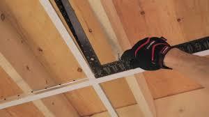 dalles plafond suspendu 60x60 pour sous sol menuiserie image et