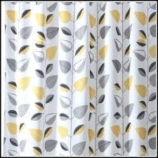 Grey Chevron Curtains Walmart by Gray And Yellow Curtains Ideas Gray And Yellow Chevron Shower