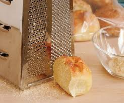 Grate Frozen Bread For Breadcrumbs