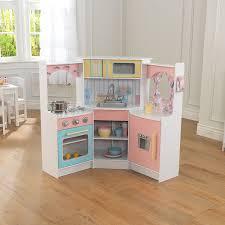 Kidkraft Grand Gourmet Corner Kitchen Play Set by Amazon Com Kidkraft Kids Kitchen Playset White Toys U0026 Games