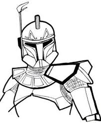 Star Wars Coloring Pages Rex