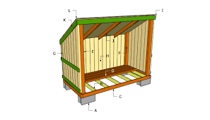 woodshed plans diy pinterest firewood wooden storage