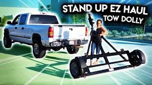100 Truck Tow Dolly Stand Up EZ Haul Car YouTube