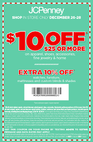 Pinned December 26th: $10 Off $25 At #JCPenney #coupon Via ...