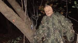 Halloween Scare Pranks 2013 by Mr Pumpkin Jumps Out Of Jack O Lantern Decoration Prank Viral